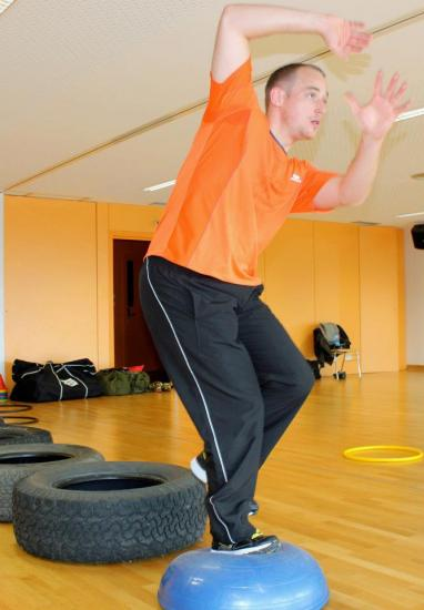 Circuit training au rds - Rapide defense
