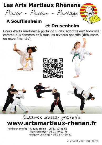 2013-2014 flyer arts martiaux soufflenheim drusenheim 00