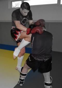 kick boxing à Soufflenheim avec Liber'Co de Strasbourg