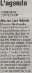 article pour la section cardio-fight
