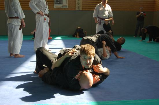 lors du stage goshin-systeme exclusif à Rumilly (74)