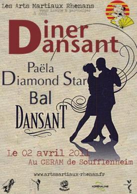 Affiche Diner Dansant 00