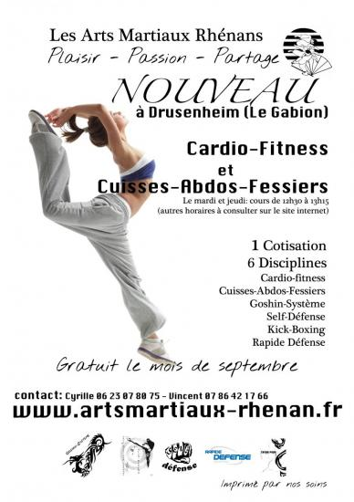 Tract pour cardio-fitness et cuisses abdos fessiers