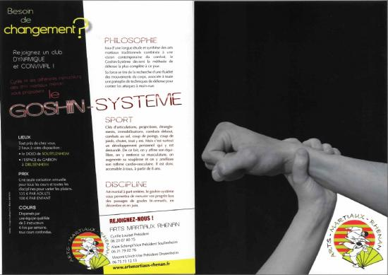 Flyer Goshin-Système
