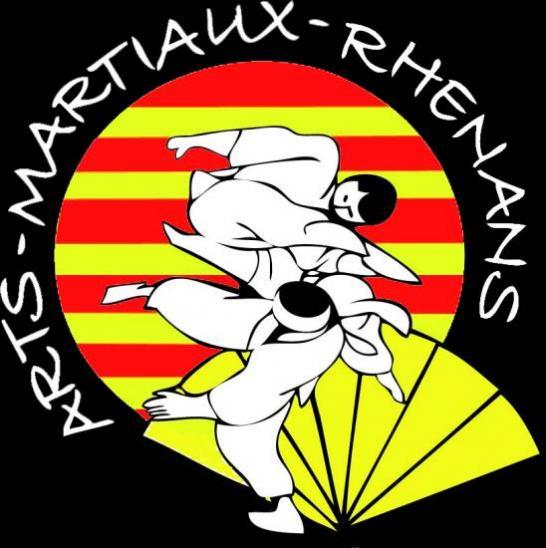 logos des arts martiaux rhenans avec texte