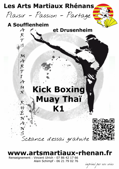 2015 2016 flyer boxe Soufflenheim Drusenheim Haguenau