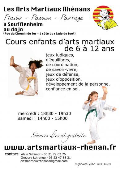 club Arts Martiaux enfants Soufflenheim 02