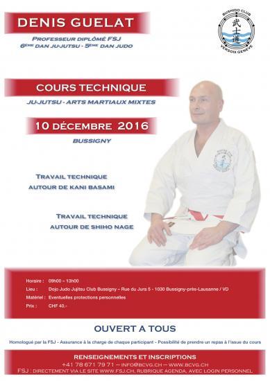 Annonce de cours ju-jitsu francais bussigny 2016
