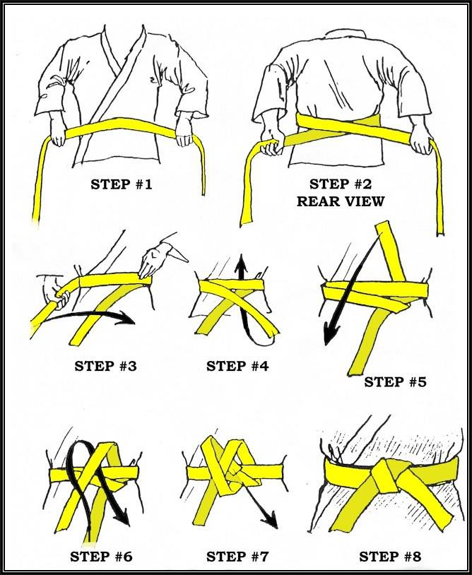 Comment faire son noeud de ceinture aux arts martiaux 3818fe8c3d2